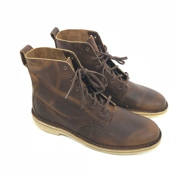 d5e9fa44823 Clarks Mens Desert Mali Leather Boots 9.5 A0107 NWT